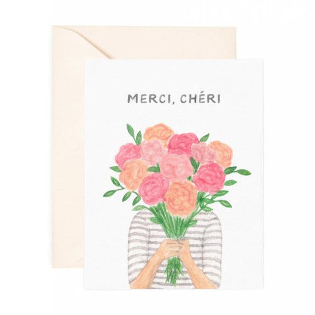 merci cheri card