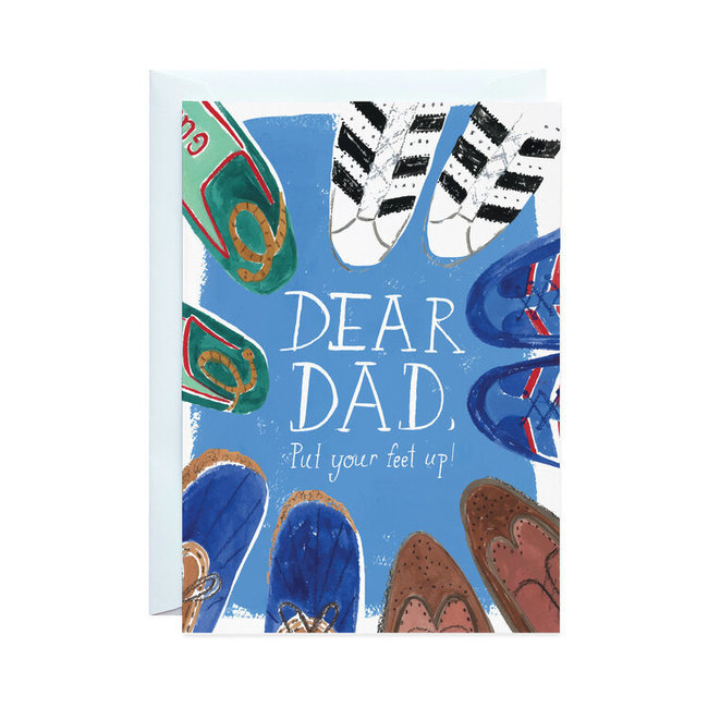 Put Your Feet Up Dad Card