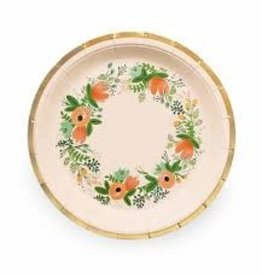 rifle paper co Wildflower Large Plates