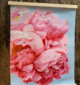 pink picasso kits Perfect Petals Printed Canvas