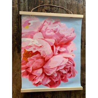 Perfect Petals Printed Canvas