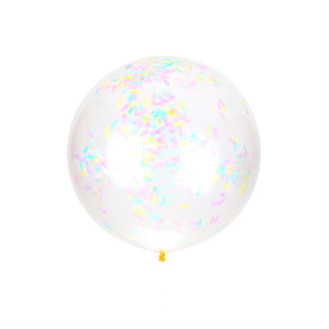 Cupcake Sprinkles Jumbo Confetti Balloon