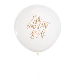 studio pep Here Comes the Bride Jumbo Balloon