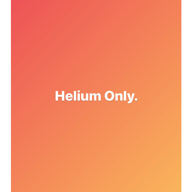 Helium 30in and Numbers Balloon Blowup