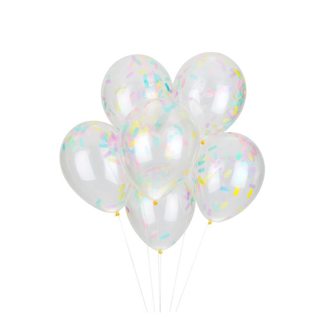 Cupcake Sprinkles Confetti Balloons