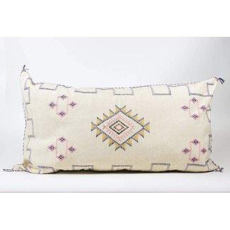 Cactus Silk Lumbar Pillow, Beni