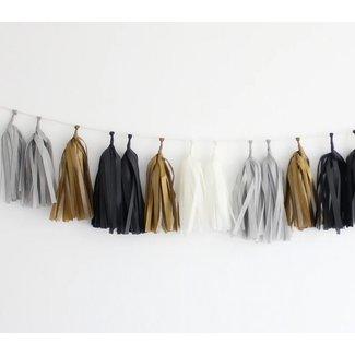 Tassel Garland Kit Tuxedo