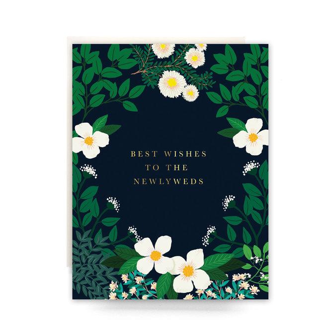 Secret Garden Newlyweds Card