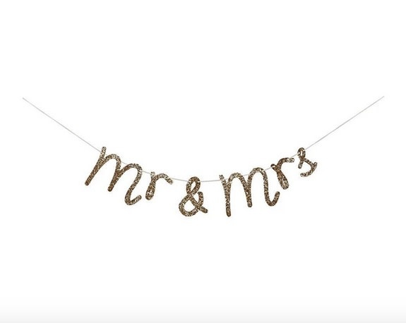 Meri Meri MR AND MRS GARLAND