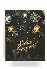 Fireworks Congrats Card