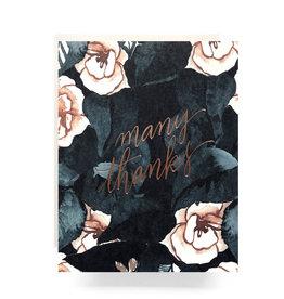 Magnolia Many Thanks Card