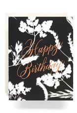 Sunprint Birthday Card