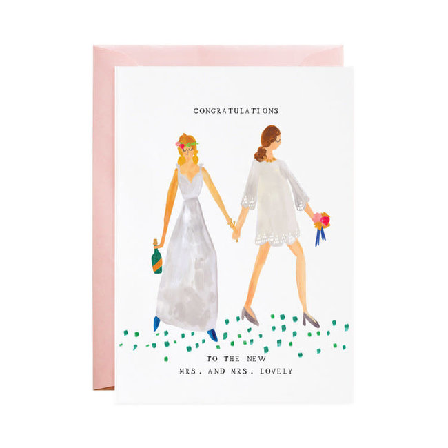 Mrs Mrs Lovely Card