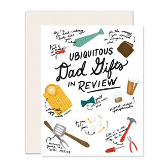 Dad Gifts in Review Card