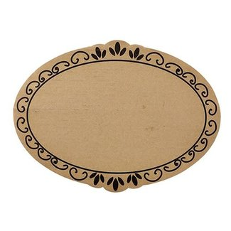 santa barbara design Cardboard Tray- Ornate 6/pk