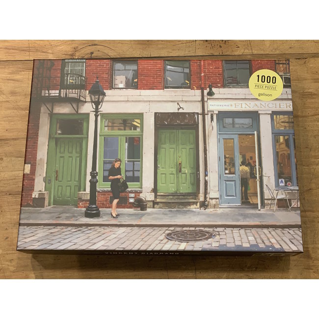 Chronicle Puzzle Vincent Giarrano NY