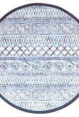 Sophistiplate Wavy Dinner Plate Indigo Batik