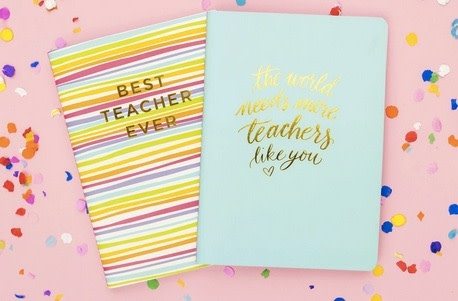 taylor elliott designs Best Teacher Ever Notebook Set
