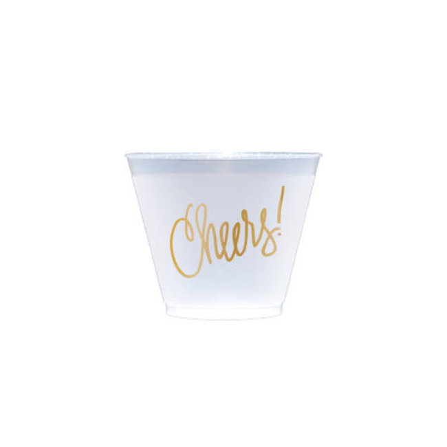 Cheers Plastic Cups 9oz