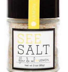 See Salt Fleur de Sel + Lemon Finishing Salt