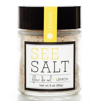Fleur de Sel + Lemon Finishing Salt