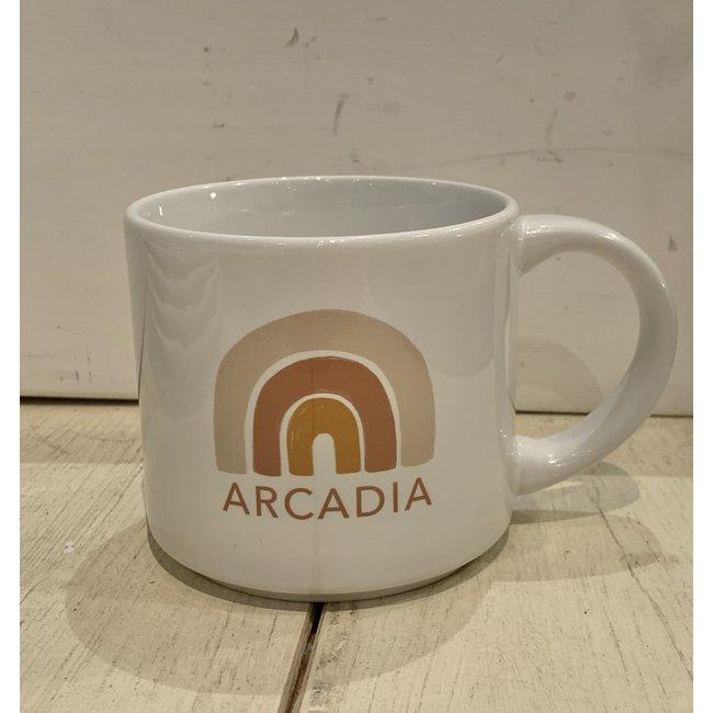 Arcadia Boho Rainbow Mug