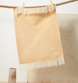minna Triangle Towel Yellow
