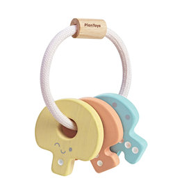 PlanToys Inc Pastel Key Rattle