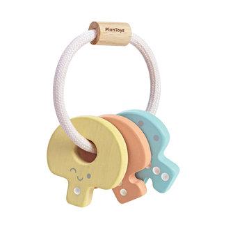 PlanToys Inc Pastel Key Rattle