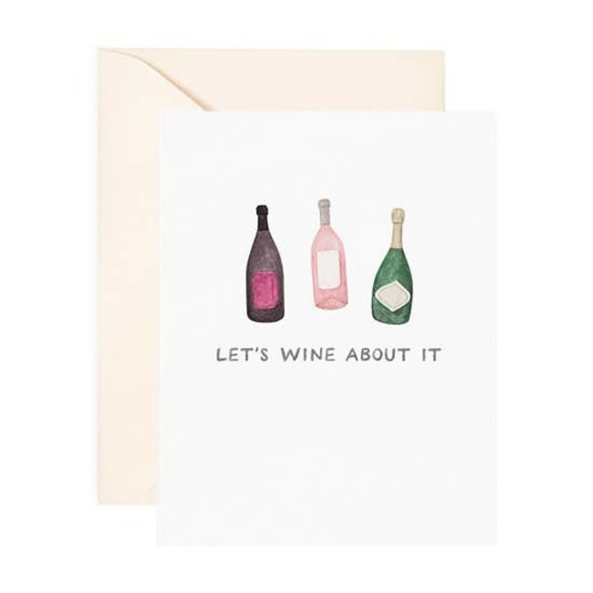 Let's Wine About it card