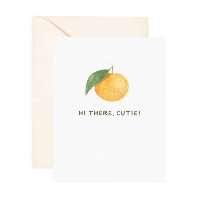 Cutie Clementine card