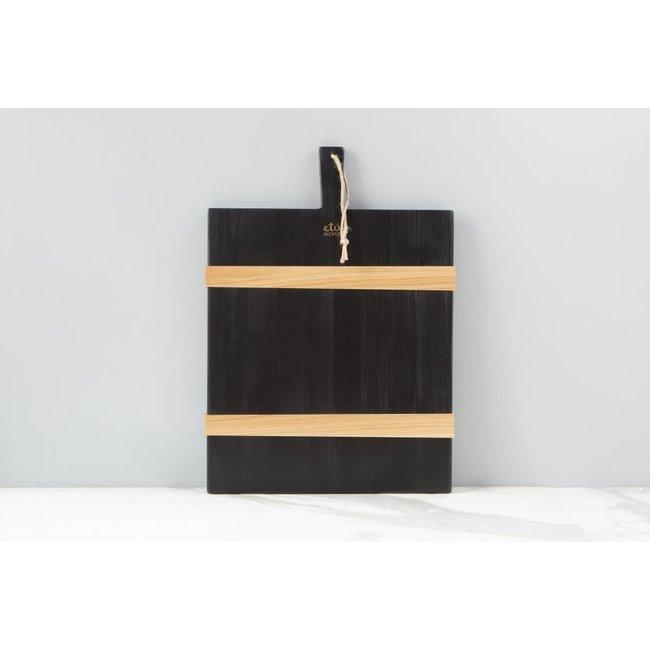 Black Mod Board Rect Medium