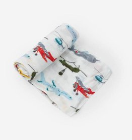 Little Unicorn Air Show Deluxe Swaddle