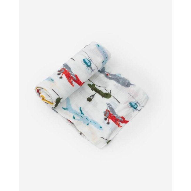 Air Show Deluxe Swaddle