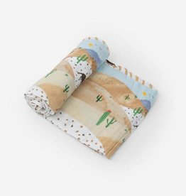 Little Unicorn Desert Hills Cotton Muslin Swaddle Single