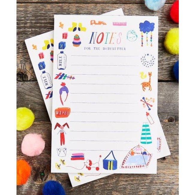 Babysitter Notepad