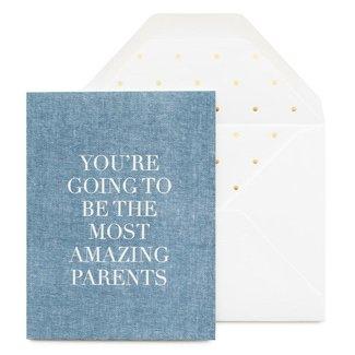 Most Amazing Parents Card