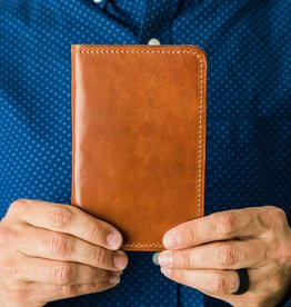 Lifetime Leather Co Field Notes Wallet - Buck Brown