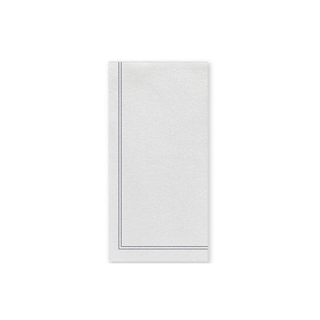 vietri Papersoft Guest Napkin Linea Grey