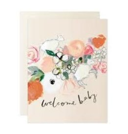 Our Heiday Lamb Welcome Baby Card