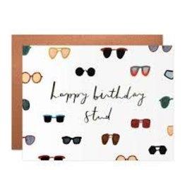 Our Heiday Happy Birthday Stud Card