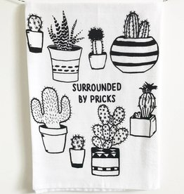 Coin Laundry Surrounded By Pricks Tea Towel