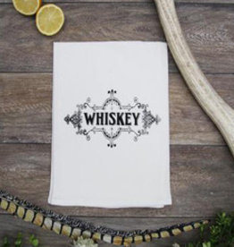 Coin Laundry Whiskey Towel
