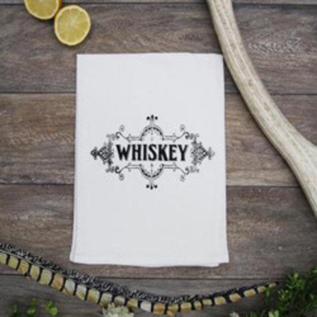 Whiskey Tea Towel