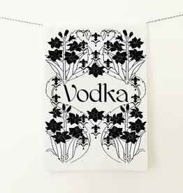 Coin Laundry Vodka Speakeasy Tea Towel