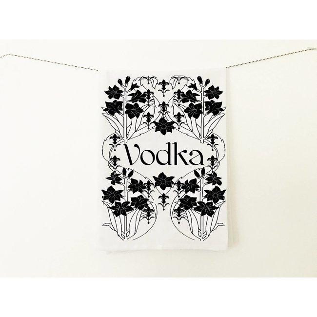 Vodka Speakeasy Tea Towel