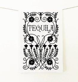 Coin Laundry Tequila Speakeasy Tea Towel