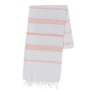 Oversized Melon Stripe Turkish Towel