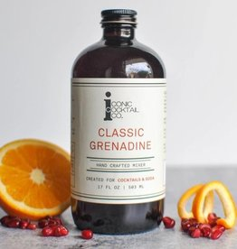 Iconic Cocktail Co. Classic Grenadine 4oz.