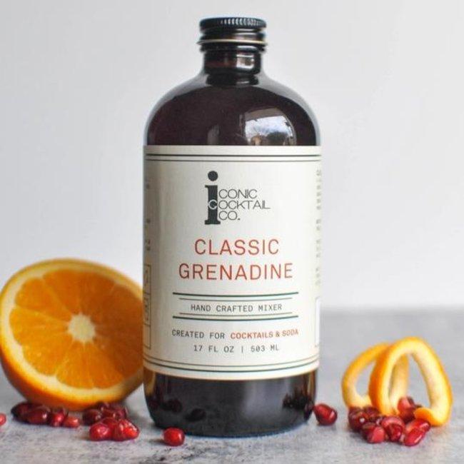 Iconic Cocktail Co. Mini Classic Grenadine 4oz.
